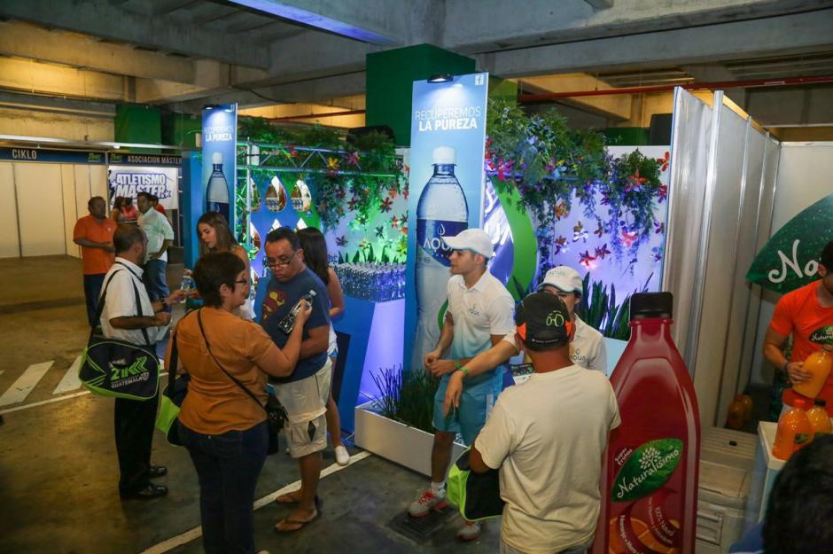 Durante tres días estará el rincón de pureza de Aqua en Arkadia Shopping. (Foto: cortesía Aqua)