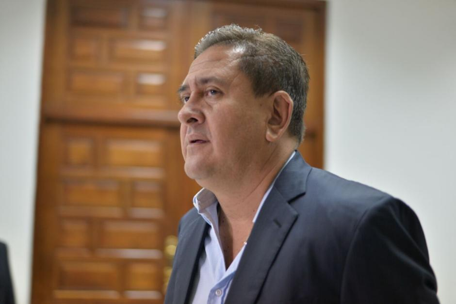 Gustavo Alejos es sindicado en el caso Cooptación del Estado.  (Foto: Wilder López/Soy502)