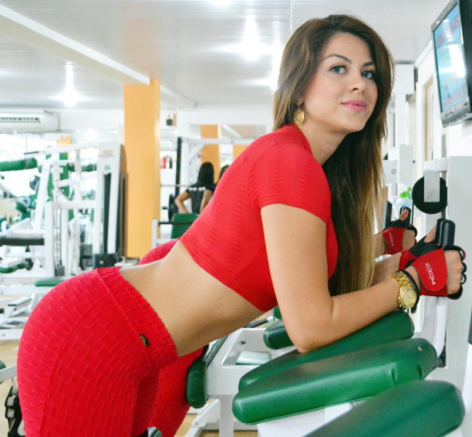 Rosana Torales, la sexy nutricionista del Boavista. (Foto: futbolete)
