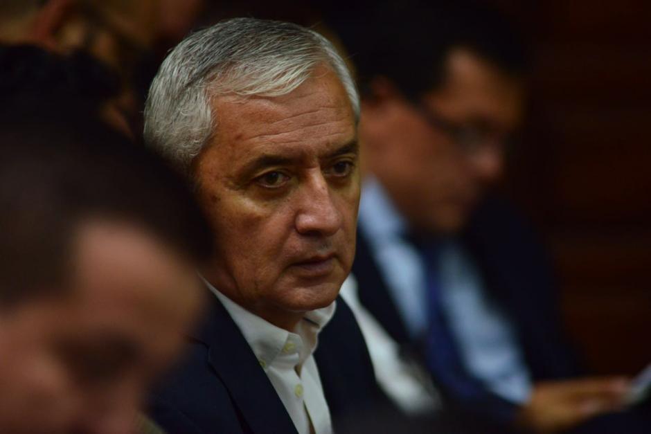El expresidente Pérez Molina se encuentra sindicado en otros casos de corrupción. (Foto: Jesús Alfonso/Soy502)