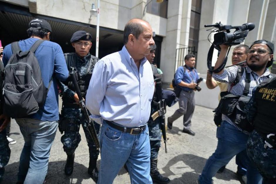 Alfredo Rabbé es sindicado de los delitos de peculado por sustracción y abuso de autoridad.  (Foto: Wilder López/Soy502)