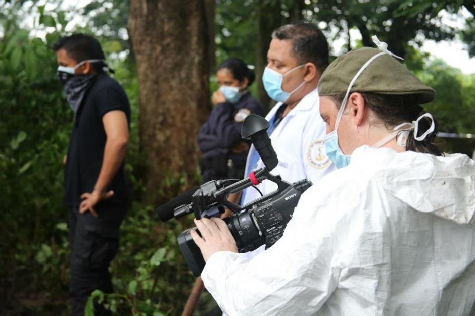 Pasarelli en una de las locaciones del documental. (Foto: Guerrilla Pictures/Facebook)
