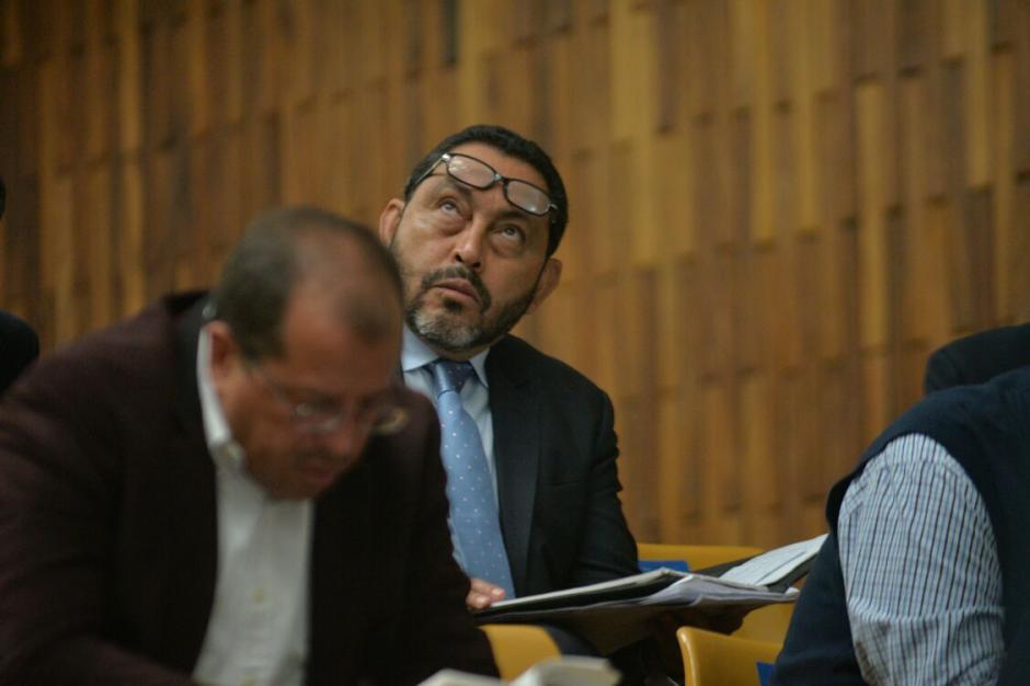 El exministro de Gobernación, Mauricio López Bonilla aún no ha rendido su primera declaración. (Foto: Wilder López/Soy502)