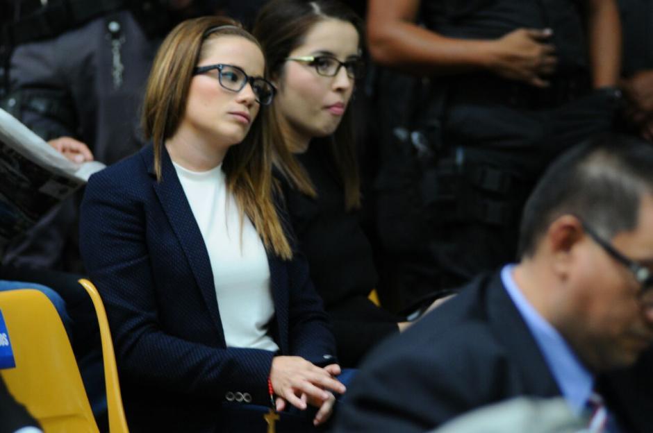 Beltranena realizó su primera declaración pero no aceptó ser interrogada. (Foto: Alejandro Balán/Soy502)