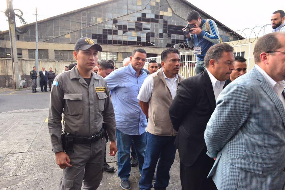 Se prevén medidas extremas de seguridad por la cantidad de implicados en la audiencia. (Foto: Jesús Alfonso/Soy502)