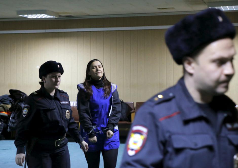 Las autoridades le ordenaron prisión preventiva hasta el 29 de abril por el caso de la niña de 4 años a la que habría decapitado. (Foto: AFP)