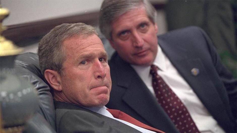 Las imágenes inéditas reflejan las emociones del expresidente al enterarse de los ataques terroristas. (Foto: Eric Draper/Biblioteca presidencial y museo George W. Bush)