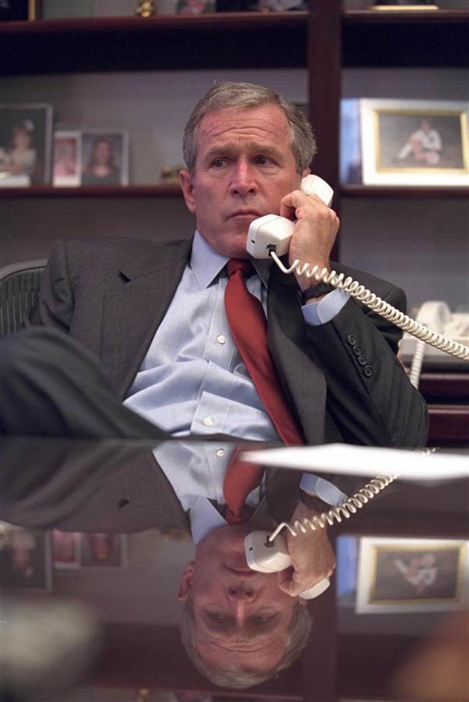 Las imágenes fueron capturadas por el fotógrafo personal del expresidente. (Foto: Eric Draper/Biblioteca presidencial y museo George W. Bush)