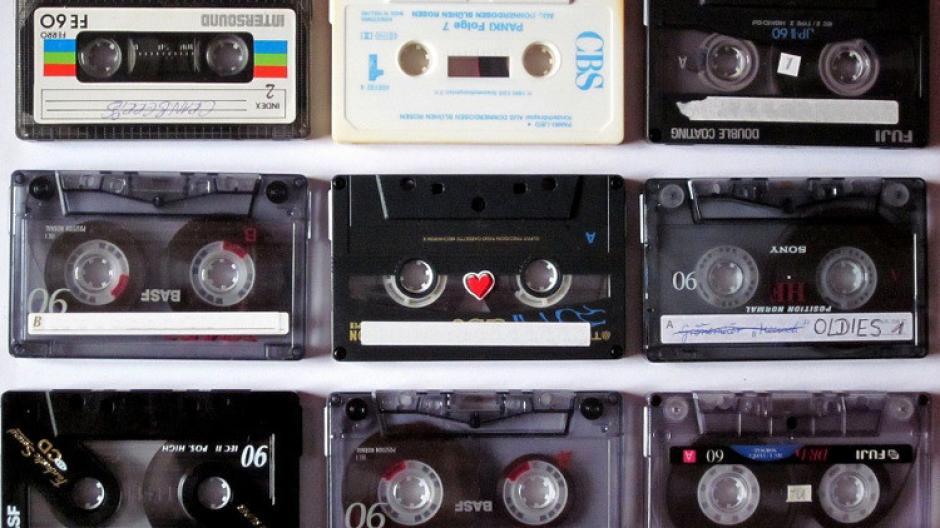 Los recordados cassettes que contenían música en 60 y 90 minutos. (Foto: Twitter)