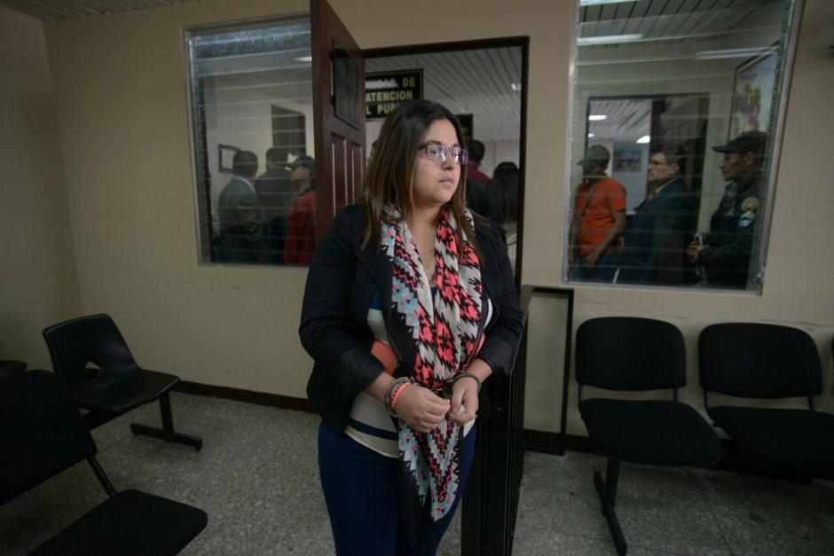 Joam Ponce Sánchez la sobrina de Othmar Sánchez logró una medida sustitutiva. (Foto: Wilder López/Soy502)
