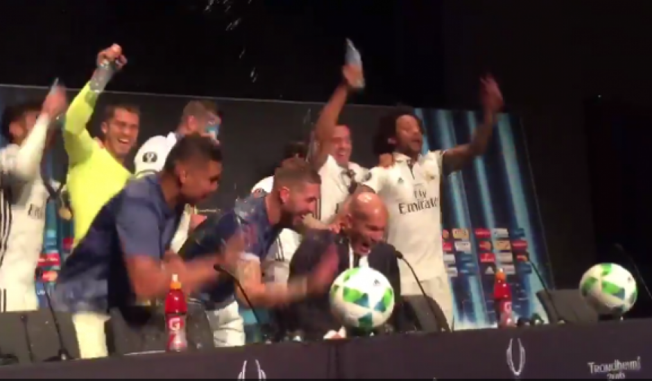 Este gesto solo lo habia conseguido Carlo Ancelotti en el Real Madrid. (Foto: Captura de video)