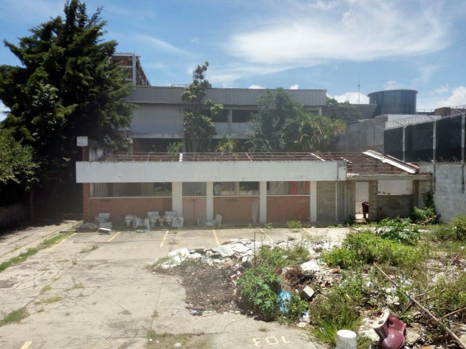 El edificio entregado por Baldetti a Cano se ubica en la zona 9. (Foto: MP)