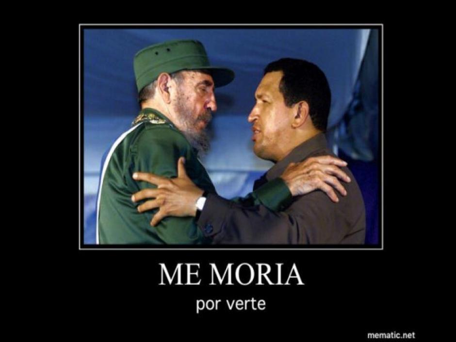 Castro y Chávez se reencontrarán en el más allá. (Foto: Twitter)