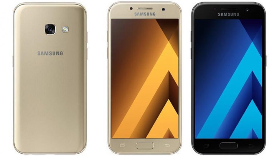 Los modelos Galaxy A5 y A3 podrían llegar al mercado en febrero próximo