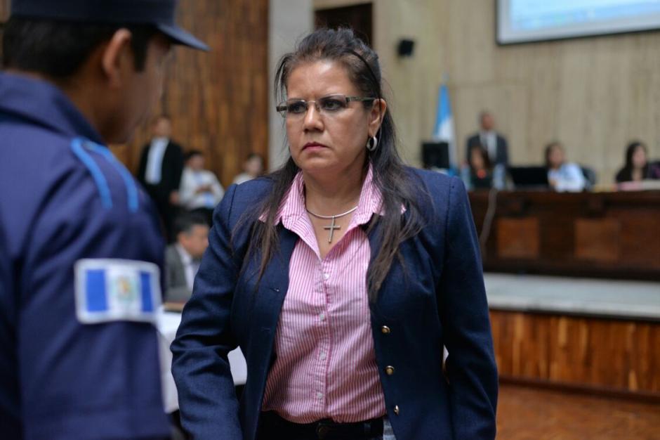 Ayuso es sindicada de los delitos de asociación ilícita y cohecho activo. (Foto: Wilder López/Soy502)