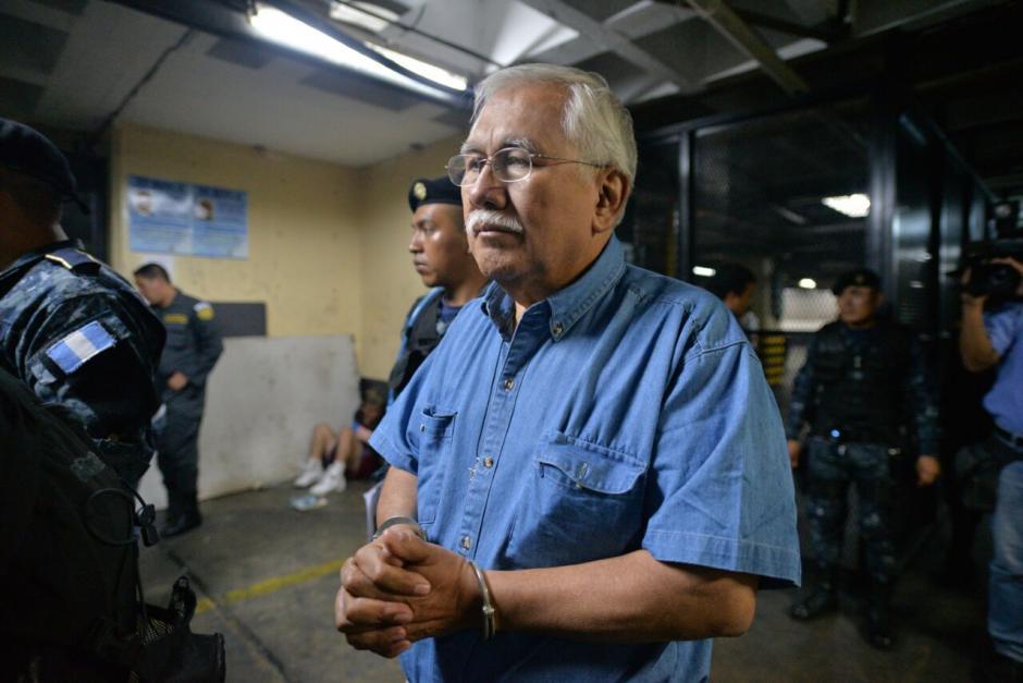 Edin Raymundo Barrientos es sindicado de asociación ilícita y lavado de dinero y otros activos.  (Foto: Wilder López/Soy502)