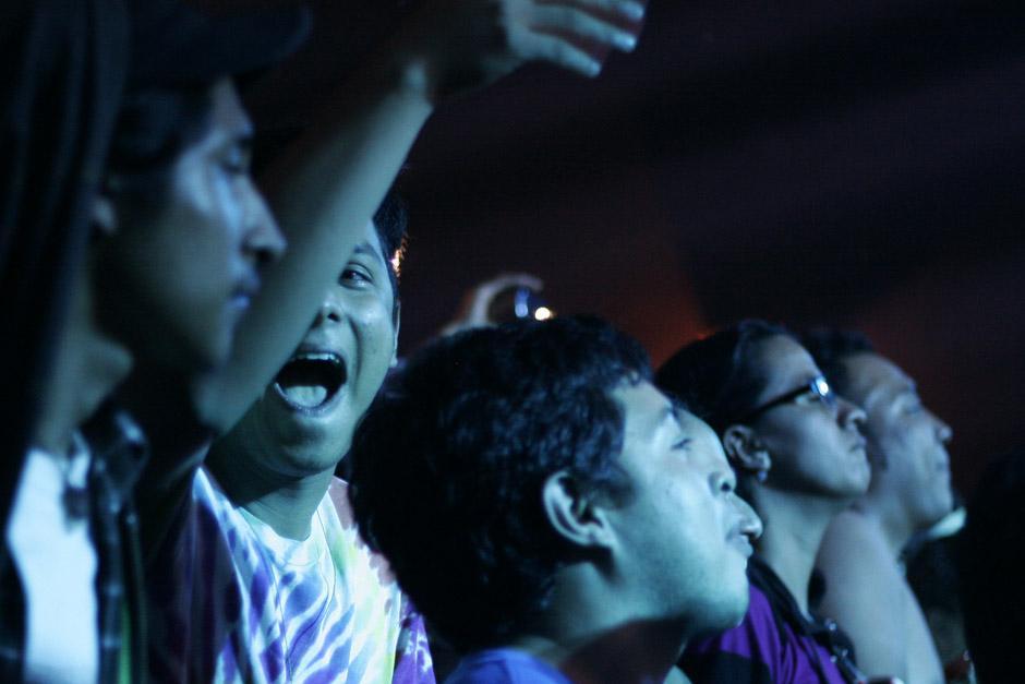 Los asistentes al Teatro Variedades disfrutaron el concierto de principio a fin