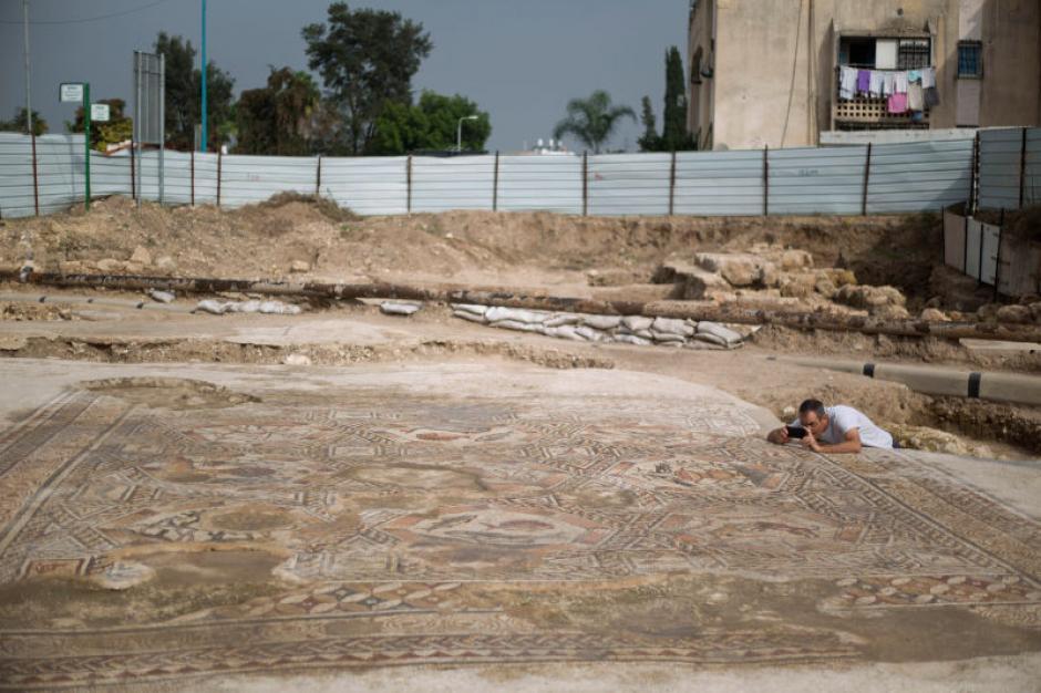 El descubrimiento tuvo lugar en medio de una contrucción de la ciudad de Lod. (Foto: gizmodo.com)