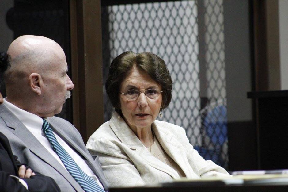 Beatriz Ofelia de León es acusada de encubrir la desaparición de Cristina Siekavizza. (Foto: Jorge Senté/Soy502)