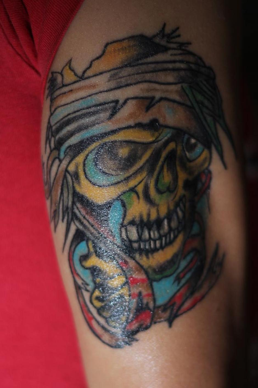 Los colores están de moda y han desplazado a los tatuajes en negro que marcaron tendencia a partir de los noventas. (Foto: José Dávila/Soy502)