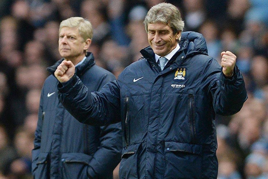 Manuel Pellegrini celebró la goleada del City pero dijo no estar satisfecho con el rendimiento del equipo