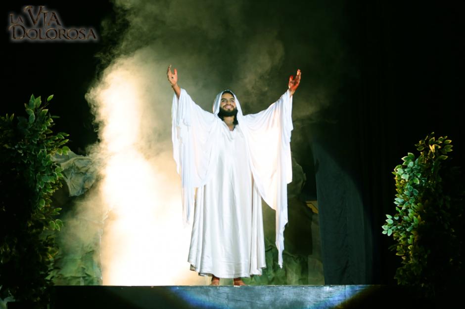 La resurrección de Jesús fue la más aplaudida y esperado por los asistentes. (Foto: Mega Fráter)