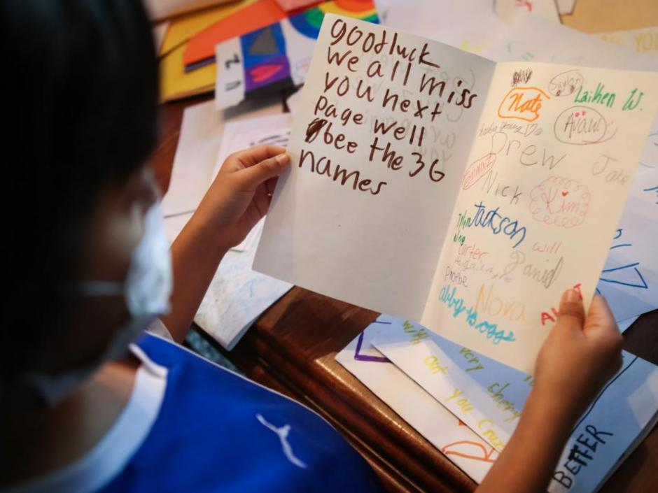 """Los padres de Cruz han organizado """"La CRUZada"""" una campaña para reclutar gente, particularmente de origen latino, para inscribirse como donantes. (Foto: Alton Strupp/The Courier-Journal)"""