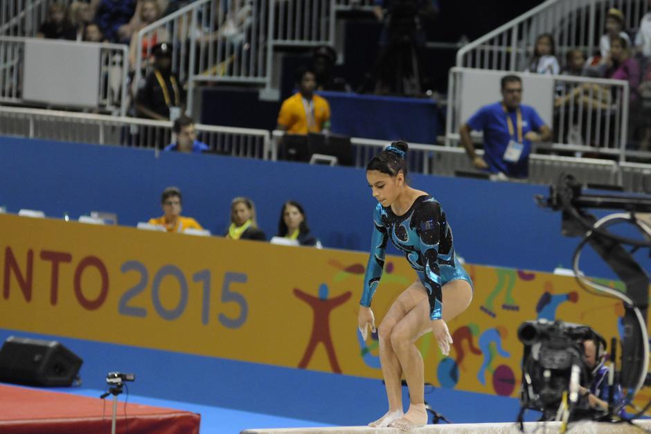 Gómez Porras aún tiene opción de medalla en la final de piso