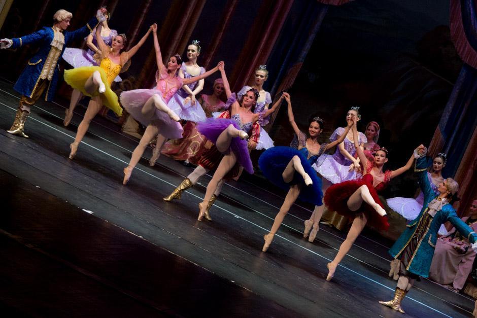 """El espectáculo duró más de una hora y llenó la """"gran sala"""" del Teatro Nacional. (Foto: José Dávila/Soy502)"""
