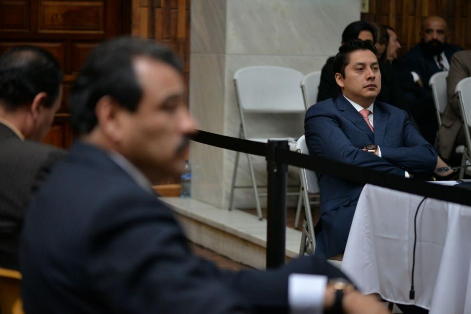 Mario Cano, fue uno de los primeros en pedir al juez que no dicte el auto de prisión preventiva. (Foto: Wilder López/Soy/502)