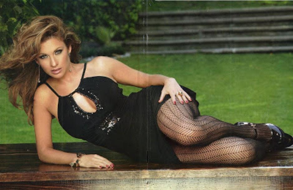 La bella Ingrid Coronado es una de las conductoras más guapas de México. (Foto: Twitter)