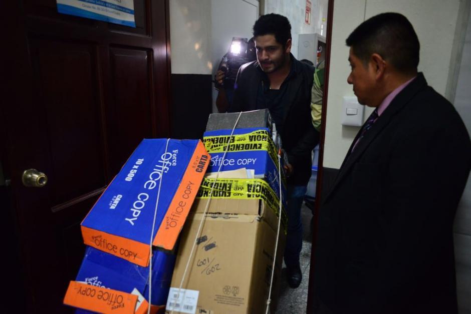 El MP informó que la acusación consta de 607 medios de prueba. (Foto: Jesús Alfonso/Soy502)