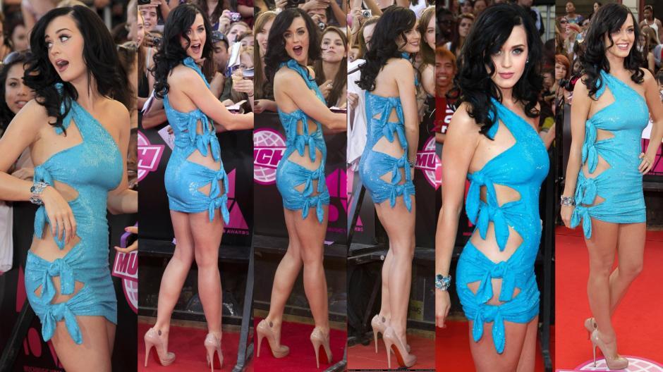 Desde todos los ángulos, Katy Perry, luce sensacional.