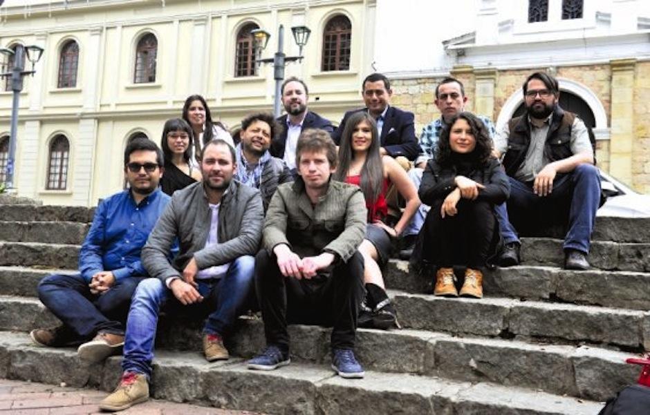 """Equipo de """"Mazdoc"""" (Colombia), involucrado en la realización del proyecto. (Foto: Harris Whitbeck oficial)."""