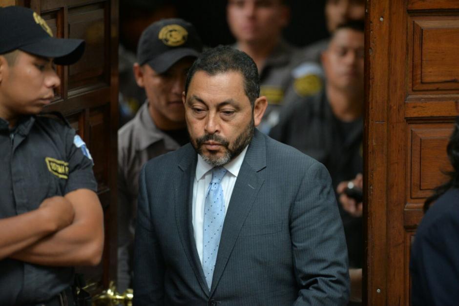 El exministro de Gobernación, Mauricio López, también figura como sindicado. (Foto: Wilder López/Soy502)