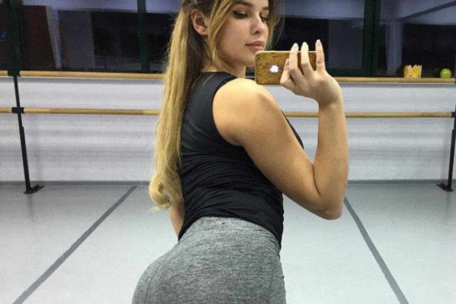Su pequeña cintura y sus grandes caderas la hacen muy atractiva a los hombres. (Foto: Instagram)