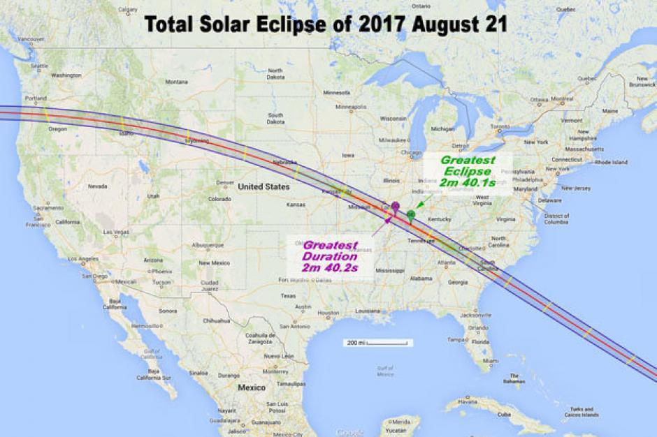 El eclipse solar se podrá ver desde Estados Unidos. (Foto: dailystar)