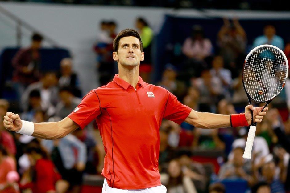 Djokovic actualmente ocupa el segundo puesto en el ranking mundial de la ATP