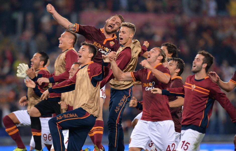 Roma está a 8 puntos del líder Juventus y aún quedan 21 unidades por jugarse en la Serie A de Italia