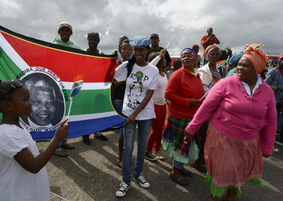 El funeral de Nelson Mandela se llevará a cabo este domingo. (Foto: EFE)