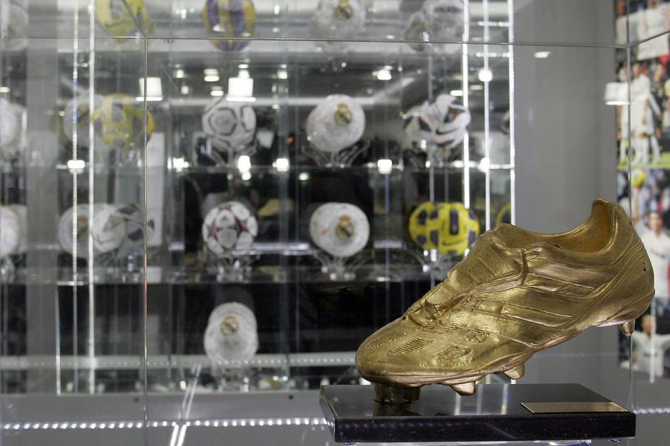 Entre los objetos del museo se muestra la Bota de Oro ganada por Cristiano Ronaldo. Esta es la nueva atracción en la Isla de Madeira, Portugal. (Foto: EFE)