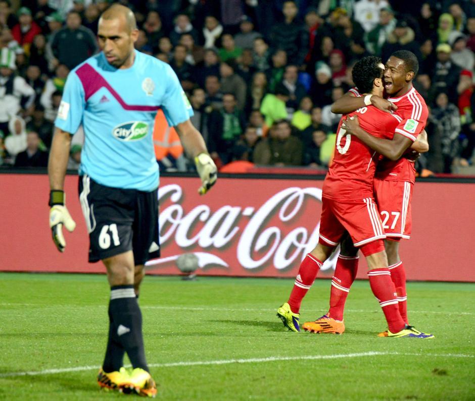 Thiago anotó el segundo gol y selló el resultado para el Bayern Munich. (Foto: AFP)