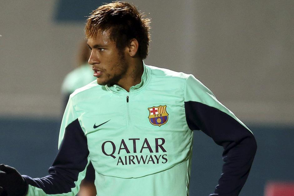 Neymar se quedó afuera de la convocatoria del juego que el Barcelona sostendrá hoy a partir de las 3 de la tarde ante el Getafe en el Camp Nou