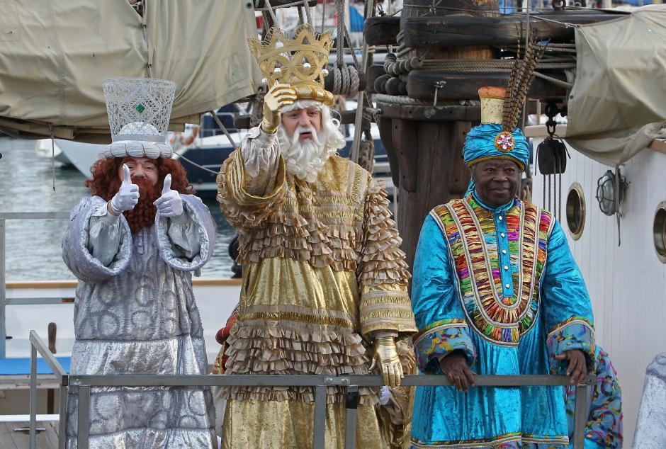 La llegada de los Reyes Magos marca el final de la época navideña. (Foto: EFE)