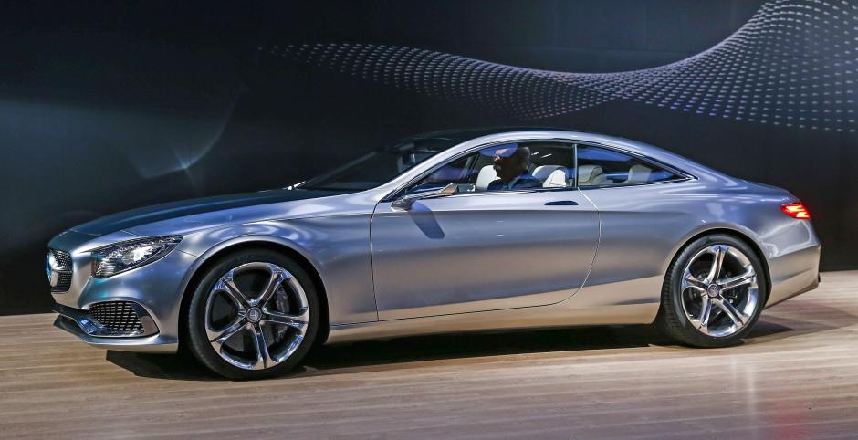 Mercedes-Benz modelo S Class Coupé. (Foto: EFE)