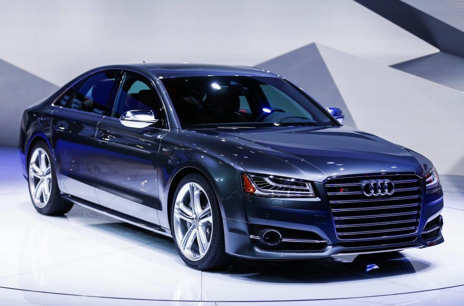Audi S8. (Foto: EFE)
