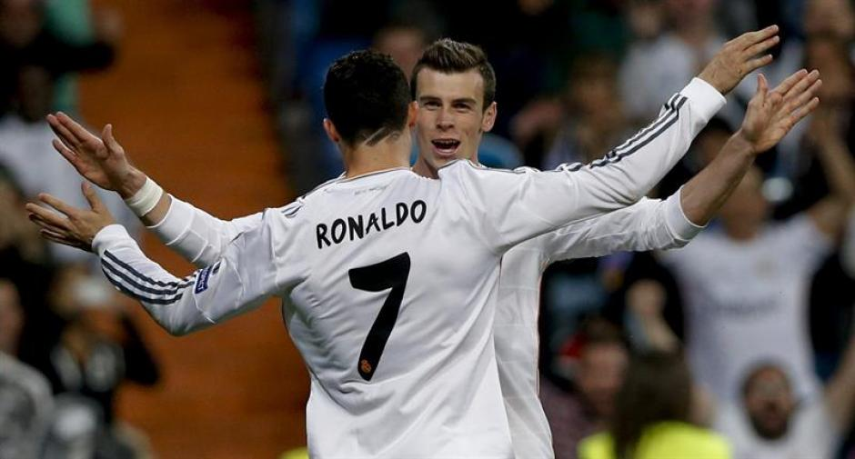 De Bale a Ronaldo, gran nivel del Real Madrid en la serie ante el Schalke 04.(Foto: EFE)