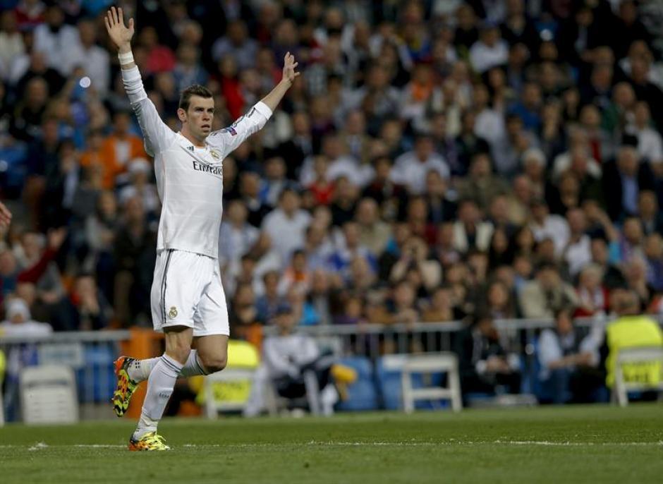 Al minuto 21, Bale hizo el pase a Cristiano Ronaldo para poner en ventaja al Real Madrid.(Foto: EFE)