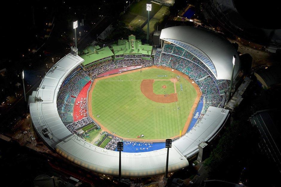 El estadio Sydney Cricket Ground de Australia fue el escenario que inauguró las Grandes Ligas. (Foto: EFE)