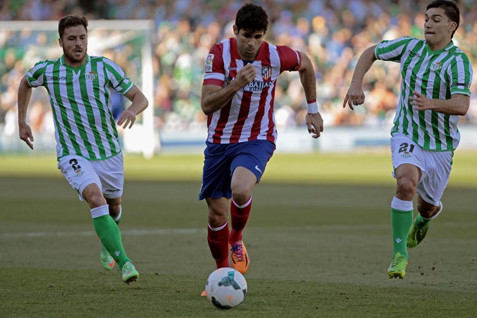El Atlético de Madrid sumó 70 puntos, los mismos que el Real Madrid que enfrenta en esta jornada al Barcelona. (Foto: EFE)